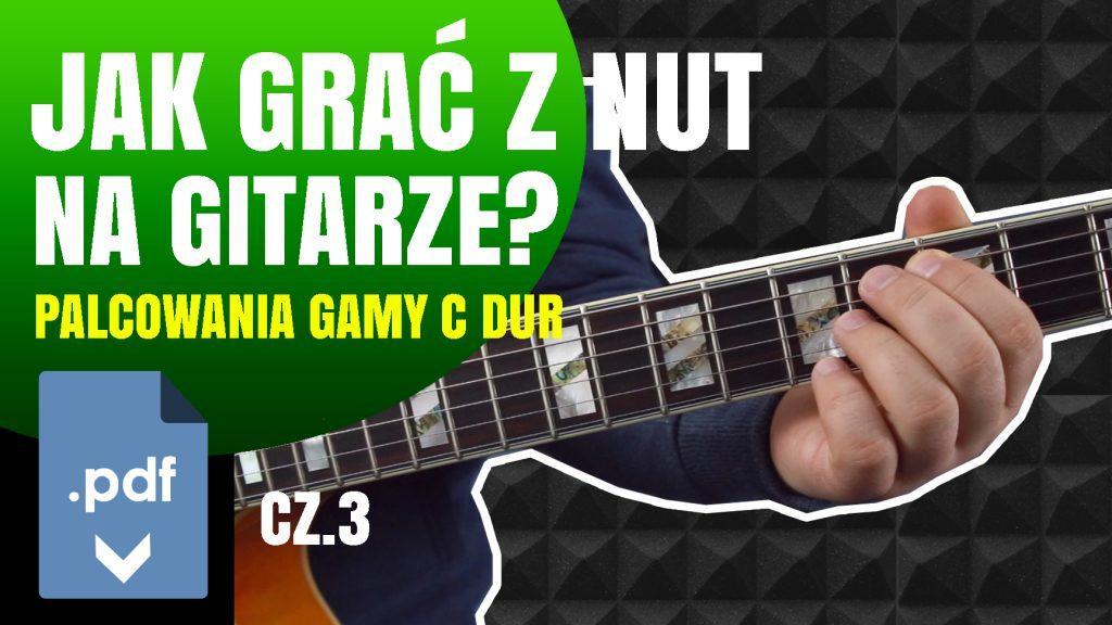 Jak grać z nut na gitarze